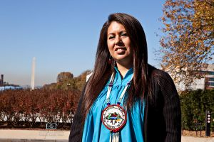 Naelyn Pike makes history  speaking before Congress