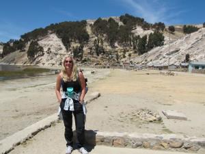 Victoria Linssen in Bolivia