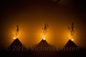 Skeleton Fire Dancers