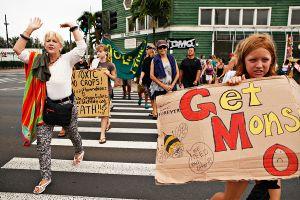 Maui GMO Protest